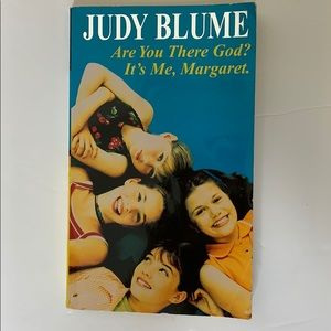 Book   Judy Blume Are You There God It's Me